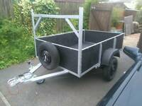 "4'2""x 6'2"" Trailer strong and sturdy"