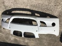 BMW 1 series September 05 E81/87 in alpine white Front Bumper-Some Small Scratches