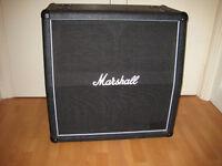 Marshall 4x12 speaker cabinet