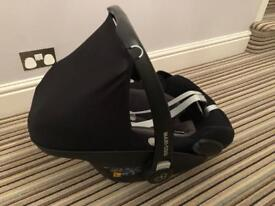 Maxi cosi pebble plus group 0+ car seat