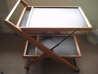 Foppapedretti Food or Drinks Trolley or furniture piece to add glasses and bottles on