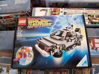 Lego Ideas (Cuusoo) BTTF DeLorean (Lego set 21103) Now retired