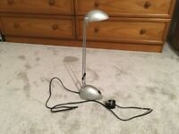 Zola Task Lamp (John Lewis) Adjustable height and lamp head (Collect Only)
