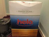 HELO Electric Sauna Heater unopened.