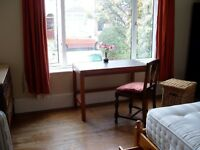 Pleasant room in quiet, clean, long-established shared vegetarian house close centre Southampton