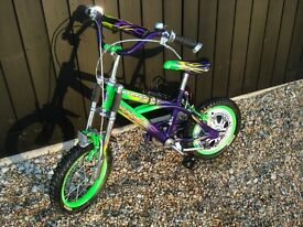 Boys Bike - Monster Jam Street Fox Suitable for 5 to 8 year old.