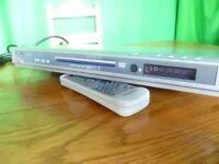 TECHNIKA DVD 105 PLAYER VGC + SCART + REMOTE + HANDBOOK