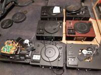 Job Lot of x7 TEAC LP-R500/ USB Audio Shelf System CD Recorder/Turntables