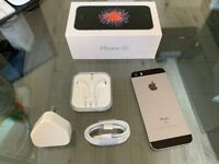 Space Grey Apple Iphone SE 128GB Factory Unlocked To All Networks + Warranty