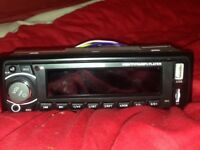 Brand new car stereo