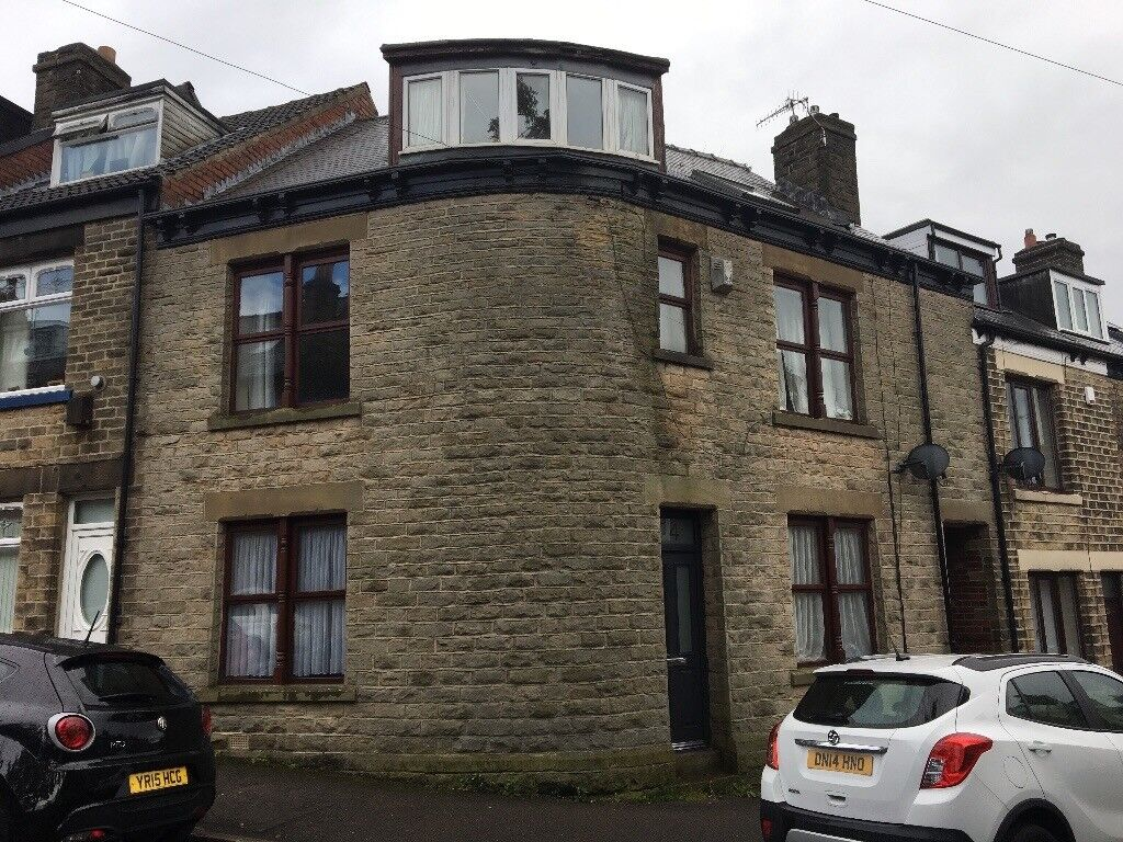 3/4 bed house in Broomhill S10 whole house or house share