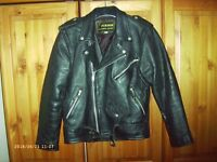 Leather Traditional Lancer Motorcycle Jacket