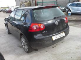 **For breaking** Vw Volkswagen Golf Sport 1.9 Tdi Mk5, 6 speed (2008).