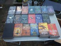 job lot Book Collection Fantasy Raymond Feist, Terry Brooks, Philip Pullman