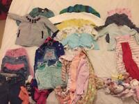 Baby Girl clothes bundle 6-9 &12/18 for Free