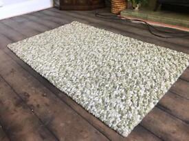 Rug - tufted green rug
