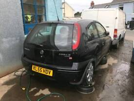 Vauxhall Corsa C 1.2 55 plate breaking for parts