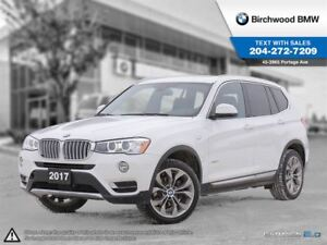 2017 BMW X3 Xdrive28i Local One Owner! On-Board Navigation