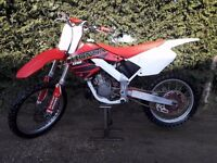 ** HONDA CR 125 MOTOCROSS BIKE * TIDY EXAMPLE * LIGHT PROJECT * CRF 250 CR125 **