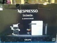 Nespresso machine and Aeroccino