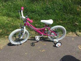 "Girl's 16"" Dawes Lottie Bike - new"