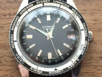 Vintage Divers Watch 21 Jewels (Breitling) 1960s
