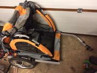 2 child bike trailer - Halfords 4 yrs old used a dozen times