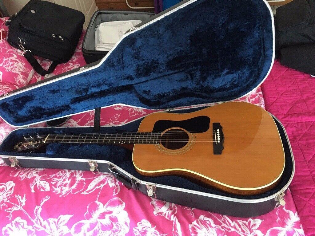 2159d91aeb81 Guild D 50 Acoustic Guitar 1976 mint condition