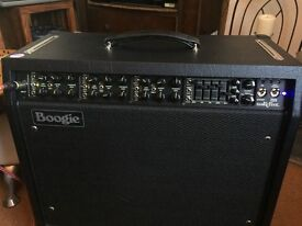 Mesa Boogie Mark Five guitar combo amp with wide boy ext cab
