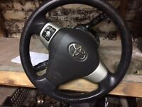 Toyota Yaris t sport steering with airbag