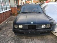 BMW E30 320i CONVERTIBLE LEFT HAND DRIVE SPARES OR REPAIRS PROJECT M3 M TECH