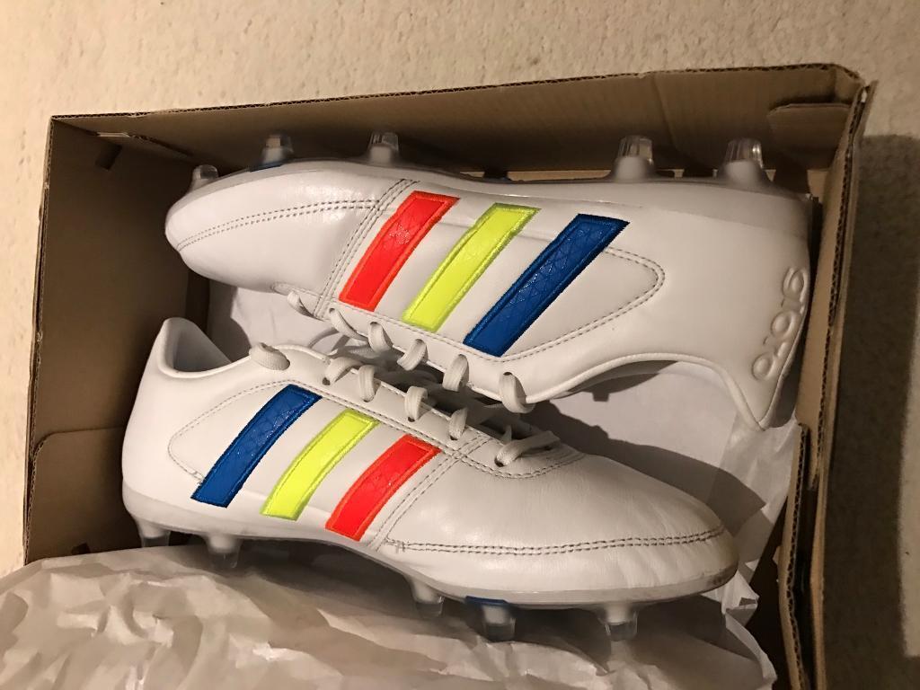 competitive price e88e5 f547a Adidas gloro 16.1 FG White solar yellow shock blue size 6