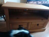 Pine wood TV unit £50!