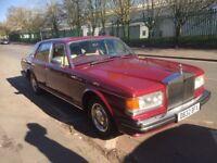 Rolls Royce , Silver Spirit, 1986 'D' reg