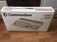 Commodore Amiga 500 Boxed computer