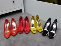 4 pair Karen Millen Shoes