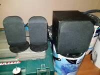 Technika speakers and sub