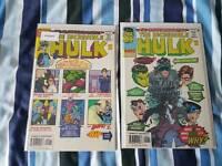 The Incredible Hulk #-1 1997 Both Varients