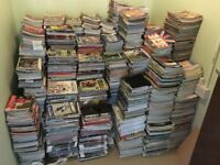 Huge collection of football programmes
