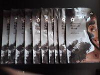 10 x Charcoal Peel of Mask