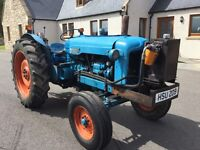 1957 Fordson Major tractor
