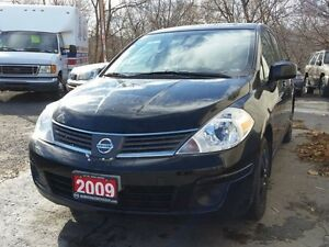 2009 Nissan Versa 1.8 S,cert&etested,low kms!!
