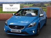 Volvo V40 D2 R-DESIGN (blue) 2013-09-30