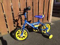 Children's bike boys bicycle. Excellent condition