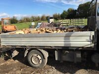 Seasoned logs and firewood