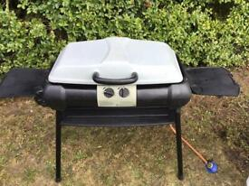 Portable gas grill bbq