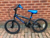 Boys bicycle in blue