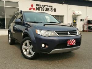 2008 Mitsubishi Outlander XLS; Navi & DVD player