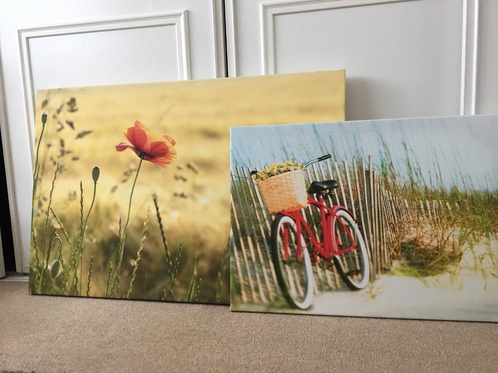 Wall art bundle. 3 canvases | in Falkirk | Gumtree