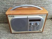 Pure radio not working